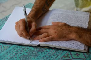 Journaling for Good Health and Well-Being
