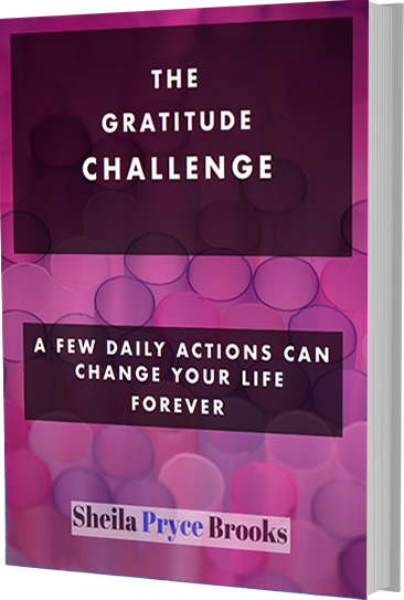 Free Gratitude Challenge Sheila Pryce Brooks